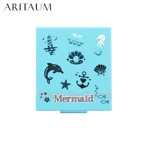 ARITAUM Eyeshadow Palette Case 4 hole [Mermaid Collection]